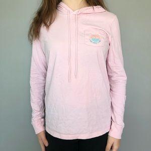 pink vineyard vines long sleeve shirt